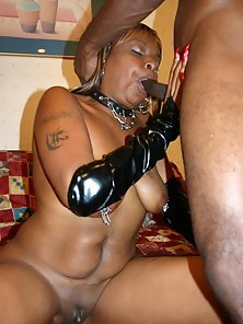 Ebony Hot Babe Got Hardcore Slammed in her Tight Asshole