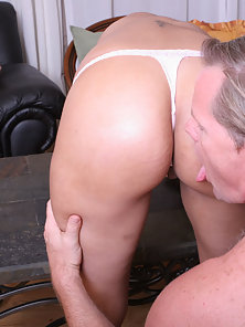 Hot ass girl wants that hard cock from behind