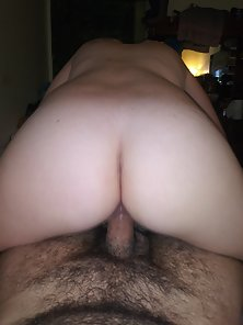 She loves riding my dick