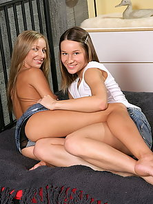 Ashley and Lilian are the hottest teen girls ever