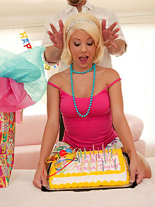 Tessa barley legal teen fucked during her birthday party.