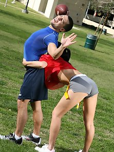 Hot ass Violet Marcell welcomes a hard dick into her tight snatch