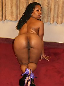 Lingerie Stripping Ebony Getting Deep Slammed by Condom Cover Cock