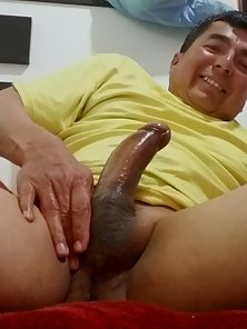 Latino posing before sex