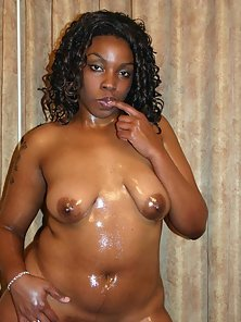 Black Curly Haired Babe Slammed Doggy Style by Meaty Shaft
