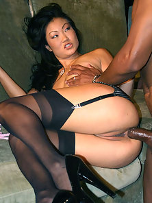 Lucy Lee Takes Black Cock In Ass