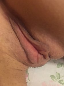 Close up of Amateur Pussy