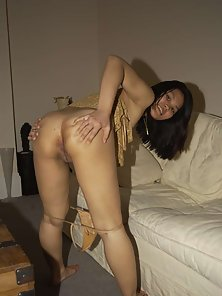 Horny chinese amateur spreads her fresh pussy
