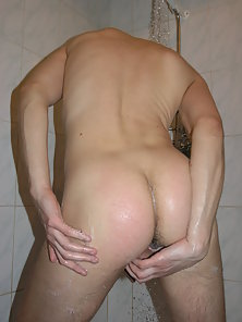 Passionate ass fucking in the college bathroom.