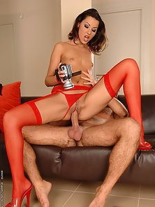 Hottie Hope and horny husband make a home video