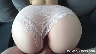 Round Ass Chick Gets Fucked by Her Man in Many Styles