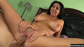 Missy Martinez fucked hard in her wet cunt