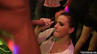 Bachelor night turns into hot sex party