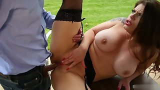 Busty Lucia Love fucked deep in her delicious cunt