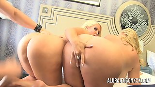 Alura Jenson has a threesome with Karen Fisher